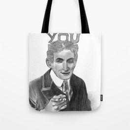 Houdini Wants You Tote Bag