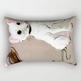 Street Chihuahua (TOPOS) Rectangular Pillow