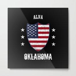 Alva Oklahoma Metal Print