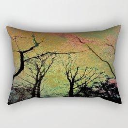TREE WANDS ( NEON ) Rectangular Pillow