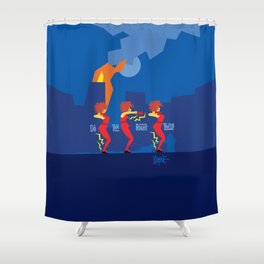 Do The Right Thing Shower Curtain