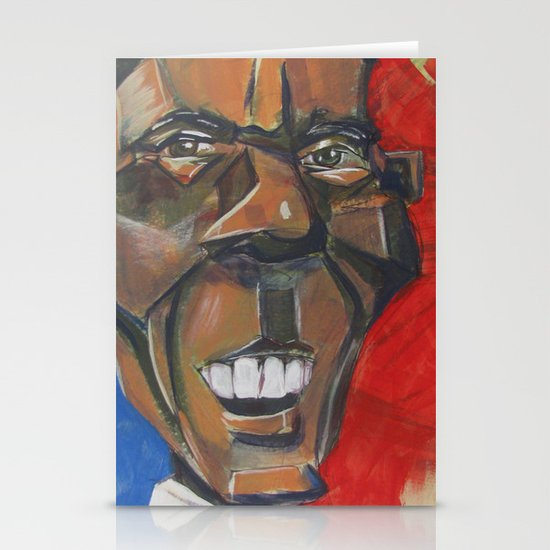 Obama Abstract Stationery Cards