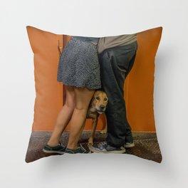 Puppy Love. S.I. Ferry Throw Pillow