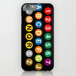 NYC Subway! iPhone Case