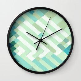 Coastal Weave Wall Clock