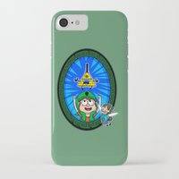 gravity falls iPhone & iPod Cases featuring Gravity Falls: Hyrule Falls by Macaluso