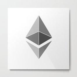 Ethereum Metal Print