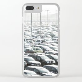 Sea of Cars Clear iPhone Case