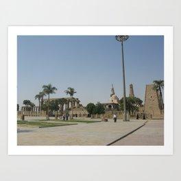 Temple of Luxor, no. 8 Art Print
