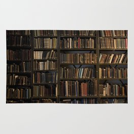 Library books Rug