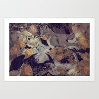 guardians Art Prints featuring Guardians  by Eevien Tan