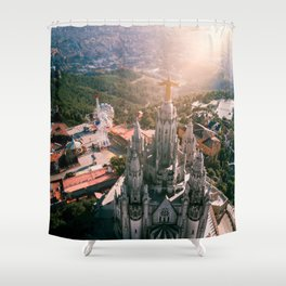 Heaven on a Hill Shower Curtain