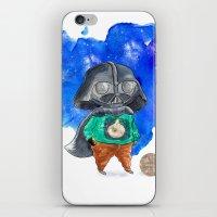 vader iPhone & iPod Skins featuring Vader by gunberk