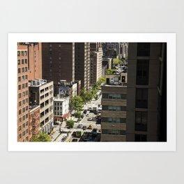 The Streets Art Print