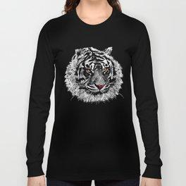 white tiger Long Sleeve T-shirt