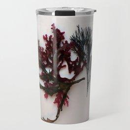 red algae Travel Mug