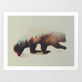 Norwegian Woods: Jerven Art Print