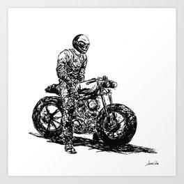 Rider 1 RAW Art Print