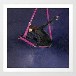 i am ninja 02 - crouching ninja Art Print