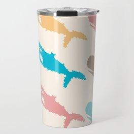 Pastel Marine Pattern 10 Travel Mug