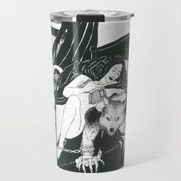 Red Riding Hood and The Big Bad Wolf Travel Mug