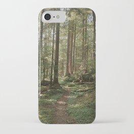 Wonderland Forest Trail iPhone Case