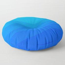 Into The Ocean Floor Pillow