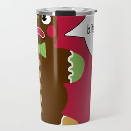 Gingerbread Cookie Angst Travel Mug