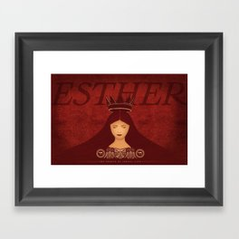 Esther Confronts Xerxes (by Lindsey McCormack Framed Art Print