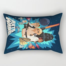 Star Wars FanArt: Rats Wars Rectangular Pillow