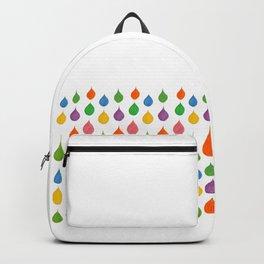 Drops of spun sugar Backpack