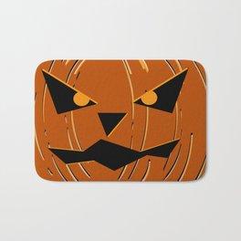 Halloween Pumpkin Bath Mat