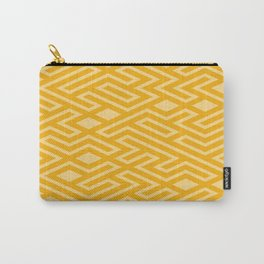 Gold Mosaics Carry-All Pouch