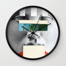 Untitled Composition 750 Wall Clock