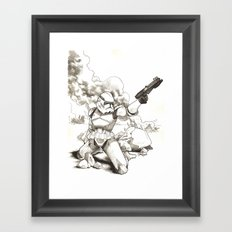 Lone Clone Framed Art Print