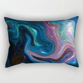 vivid and vast Rectangular Pillow