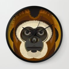 Gibbon Wall Clock
