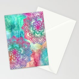 Round & Round the Rainbow Stationery Cards