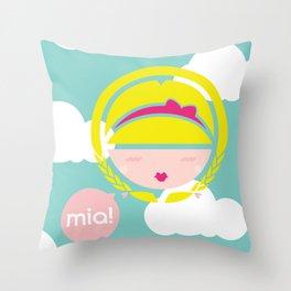 MIA! Throw Pillow