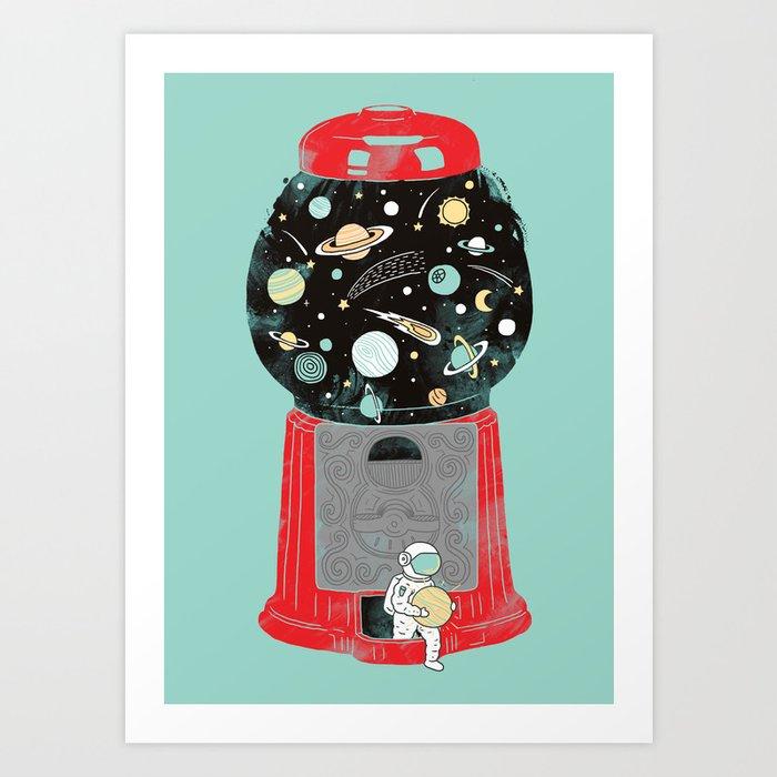 My childhood universe Kunstdrucke