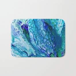 Blue dragon Bath Mat