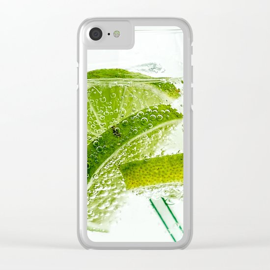 lime Clear iPhone Case