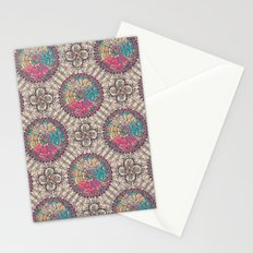 Stained Glass Mosaic Stationery Cards