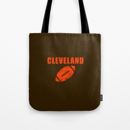 Cleveland Football Tote Bag