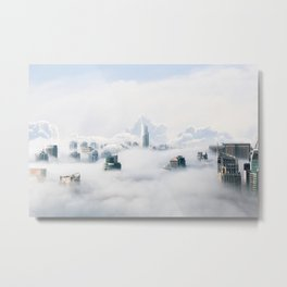 Cloud City Metal Print