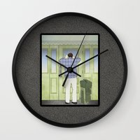 military Wall Clocks featuring Military Homecoming by Aquamarine Studio