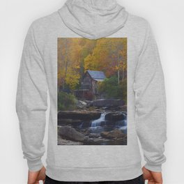 Glade Creek Mill in Autumn Hoody