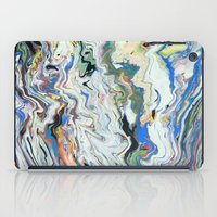 geology iPad Cases featuring Fluctuating Geology by Christina Stavers