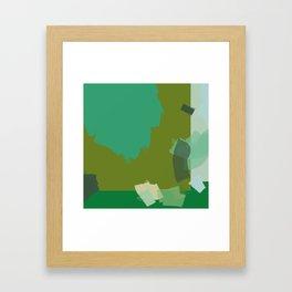 Ode to green 3 Framed Art Print