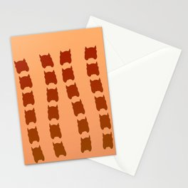 Painted by suncream ... Stationery Cards